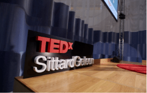Piepschuim letters Tedx sittard