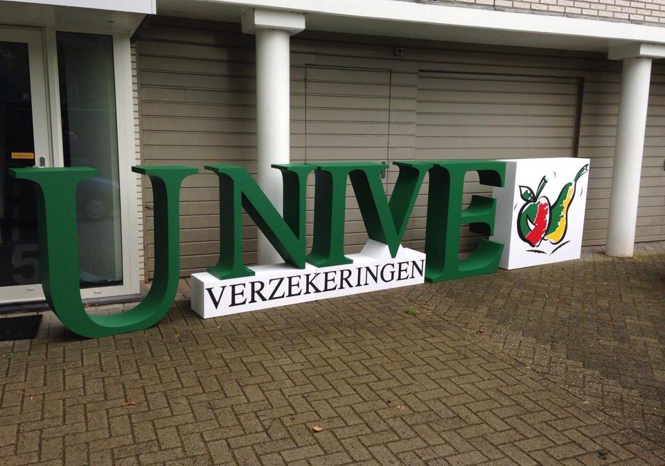 Piepschuim Letters Unive Logo