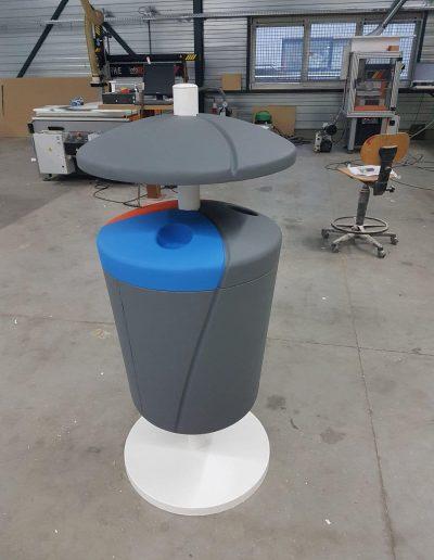 piepschuim 3d object op maat