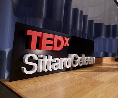 Ted X Sittard Geleen Piepschuim letters